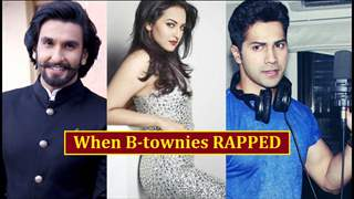 What happened when these B-town stars experimented with RAP