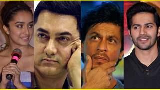 Shraddha Kapoor on Aamir Khan, Shah Rukh Khan and Varun Dhawan