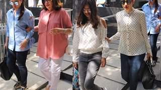 Cute: Kareena Kapoor took her Mommy Babita on a Lunch Date