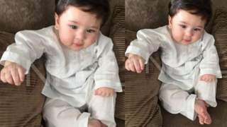 Inside Photo of Taimur Ali Khan CHILLING at his home