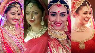 #Stylebuzz: Beautiful Bridal Looks Of TV Celebs From Reel & Real Life!!