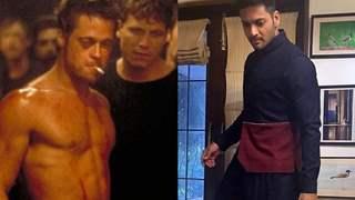 Ali Fazal's look SIMILAR to Brad Pitt in his next?