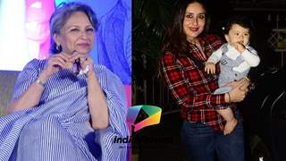 Grandmother Sharmila Tagore reveals Taimur Ali Khan's birthday plans