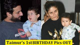 Taimur's FIRST Birthday Pictures are OUT: He is looking so CUTE