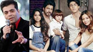 THIS is HOW Shah Rukh Khan is as a FATHER, says Karan Johar