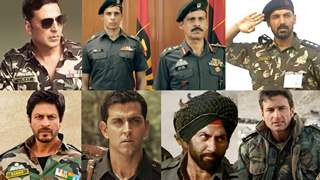 Bollywood actors who OWNED the army uniforms and how!