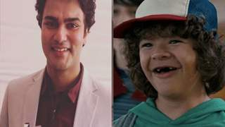 Wait! what? Alekh Sangal just met the FAMOUS Gaten aka Dustin from 'Stranger Things'?