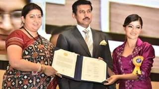 Prakruti Mishra of &TVs Bitti Businesswali bags the National Award