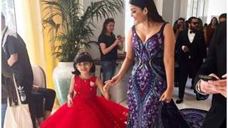 Aishwarya and Aradhya's adorable moment at Cannes