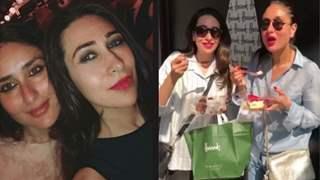 Binge Eating-Street Shopping-Night Parties: Kareena-Karisma are Having