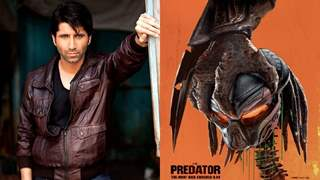 Sumit Kaul dubs for Hindi version of 'The Predator'