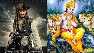 Jack Sparrow from Pirates of Caribbean was inspired by Lord Krishna!