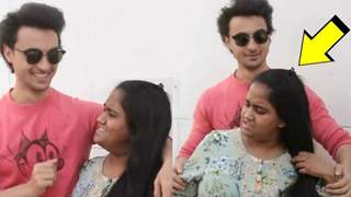 Arpita LOST her COOL on Husband Aayush in front of Media: Video Below