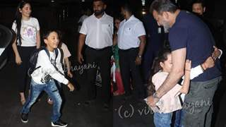 HEARTWARMING moment as Sanjay Dutt REUNITED with his Kids: Pics Below