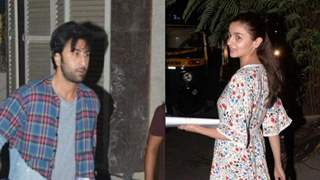 PHOTOS: Ranbir and Alia resumes shooting For 'Brahmastra'