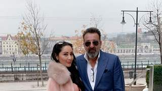 Sanjay Dutt attends  HUNGARIAN-INDIAN SYMPOSIUM  along with Manyata
