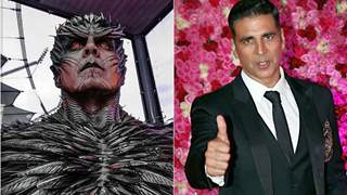 Akshay Kumar reacts to first look wearing prosthetic makeup for 2.0