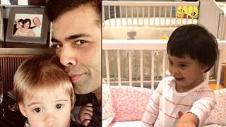Karan Johar shares an ADORABLE video of Roohi and Yash