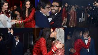 Bachchans-SRK-Malaika SET the Dance Floor on FIRE at DeepVeer's Bash