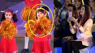 Aishwarya couldn't stop doing THIS when Aaradhya was DANCING on stage
