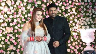 [IN PICS] Kapil Sharma and Ginni Chatrath Reception was a STAR STUDDED affair
