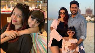Here's how Abhishek Bachchan showers Love for wife and Daughter!