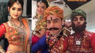 The Cast of Zee TV's 'Aapke Aa Jaane Se' Went All DESI!