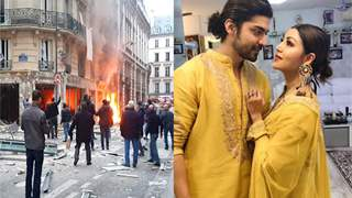 During the Paris bomb blast, Gurmeet & Debina were there! Here is an UPDATE