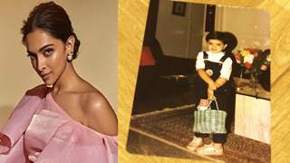 Deepika Shares an ADORABLE Throwback PICTURE which Portrays INNOCENCE