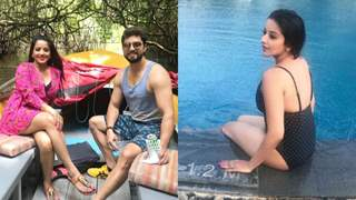 Monalisa's Srilankan Getaway with hubby Vikrant Singh; Doesn't she SIZZLES in swimsuit?