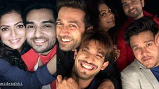 Shakti Arora, Drashti Dhami, Nakuul Mehta and Arjun Bijlani PARTYING together!