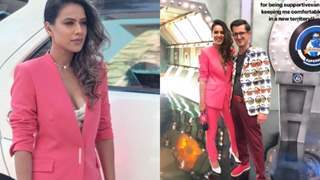 Nia Sharma turns HOST for the first time; Keeps Her Style Game On Point!