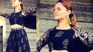 #Stylebuzz: Rubina Dilaik's Boho Chic Fashion Face-Off Moment With This Hot Bollywood Mommy...