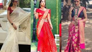 #Stylebuzz: One Saree, Many Weaves: A Quick Saree Tour Across India (Feat Our Television Faves)