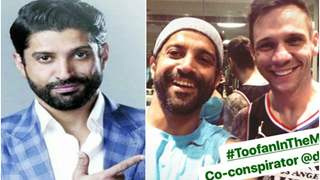 Farhan Akhtar shares a picture with the trainer; Toofan in the making