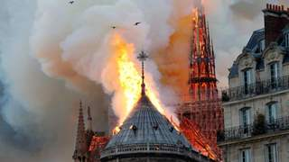 #NotreDameFire: Television Celebs MOURN After Massive Fire Ravages Cathedral in France
