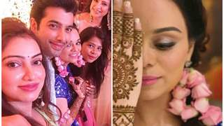 PICTURES from Ssharad Malhotra & Ripci Bhatia's MEHENDI ceremony are OUT!