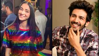Ananya Panday says she loves spending time Kartik Aryan!