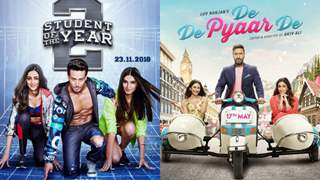 Tiger's SOTY2 Day 1 box office collection is higher than Ajay Devgn's De De Pyaar De