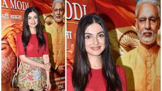 Divya Khosla Kumar looked stunning at a recent screening