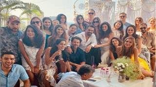 Arjun Rampal turns a DJ for Girlfriend Gabriella Demetriades at her Baby Shower