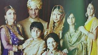 This throwback family photo of Saif Ali Khan and Kareena Kapoor Khan from their wedding oozes royalty!