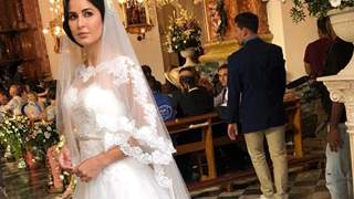 Creating Katrina Kaif's Bridal Gown wasn't easy; Ashley and Salman's sister Alvira did a lot of brainstorming