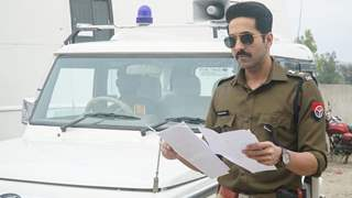 Ayushmann Khurrana's realistic portrayal of the cop character is hitting the right chords