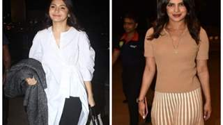 Priyanka Chopra and Anushka Sharma turn the heat up at the airport