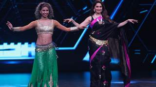 Madhuri Dixit Performs Belly Dance in a Saree; Ticks off An Item From Her Bucket List!