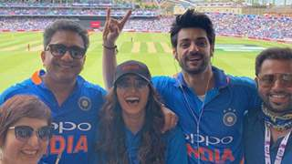 Celebs in Manchester: As the India vs Pakistan match goes on, these TV Celebs are there to cheer