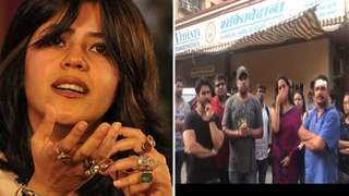 Four men attack & commit violence on the sets of Ekta Kapoor's show