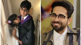 Ayushmann Khurrana reveals the reason behind his children not watching his films!