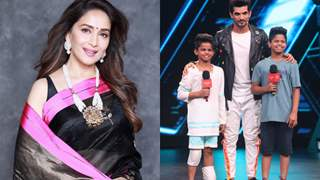 Madhuri Dixit Recalls A Funny Incident About Her Sons on Colors' Dance Deewane!